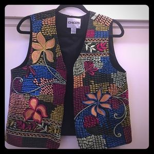 "Vintage Chico's ""Vest of Many Colors!"""